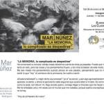 Inauguración exposición Mar Núñez