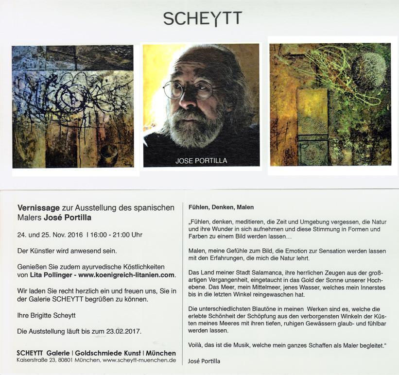 Portilla -  Exposición Múnich